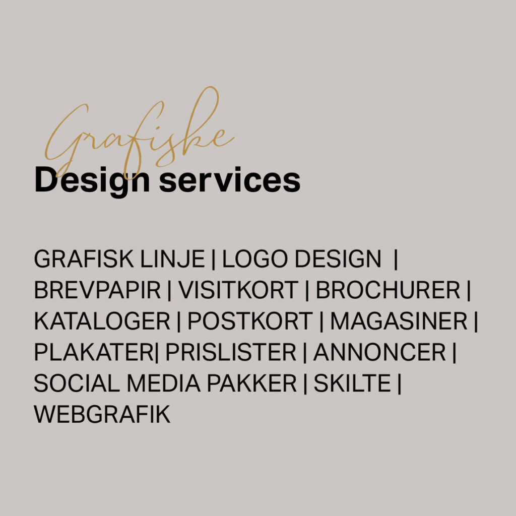 grafisk design service