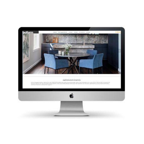 Webdesign for boform