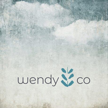Grafisk design linje og webdesign forWendy CO